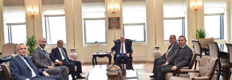 Yargıtay Başkanı Sayın Mehmet Akarca'ya Ziyaret Gerçekleştirdik